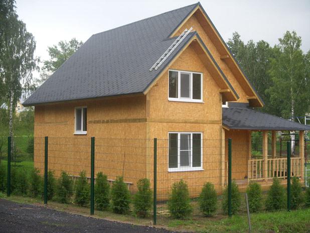 Быстровозводимые дома из сип панелей