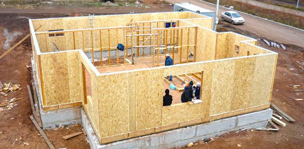 Дом из сип панелей под ключ - фото