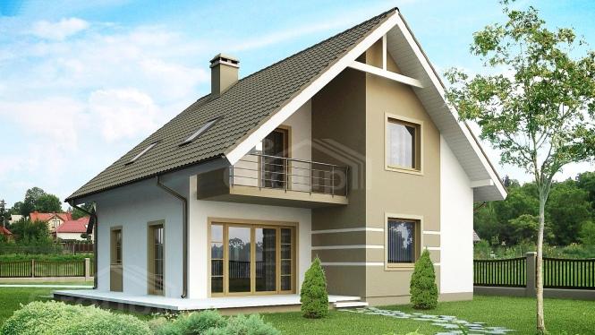 "Проект дома из СИП панелей ""Бавария"""