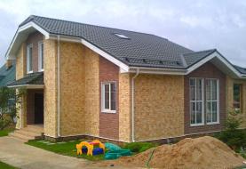 Дома из СИП панелей - фото