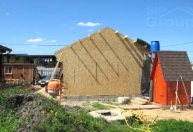 Строительство гаражей из СИП панелей