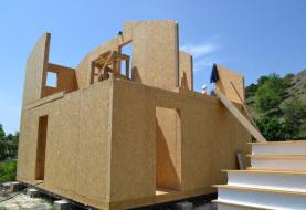 Строительство сборного дома из СИП панелей - фото