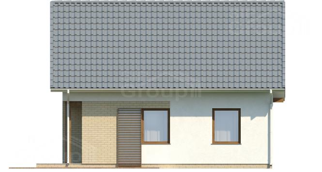 """Проект дома из СИП панелей """"Удачный"""" - фасад"""