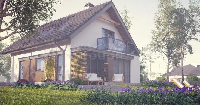 """Проект дома из СИП панелей """"Верона"""""""