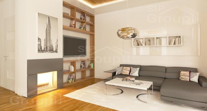 """Проект дома из СИП панелей """"Верона"""" - фото интерьера"""