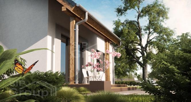 """Проект дома из СИП панелей """"Вертиго"""""""