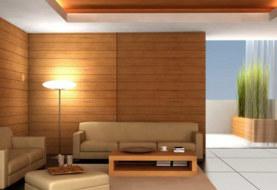 Внутренняя отделка СИП дома в стиле минимализм