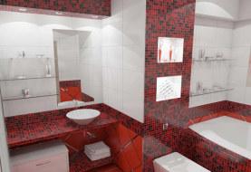 Отделка ванной комнаты в доме из СИП панелей