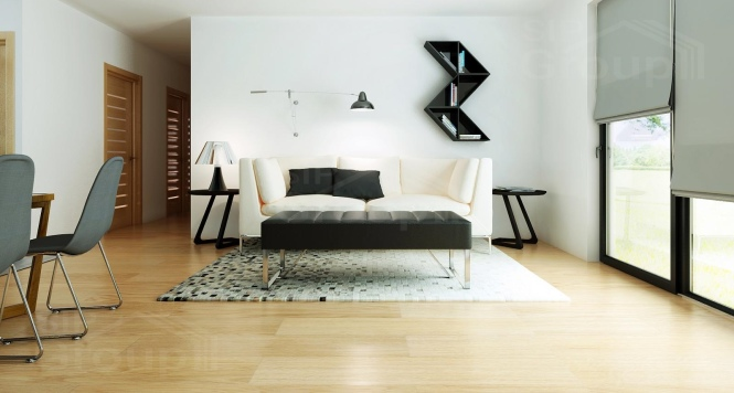 """Проект одноэтажного дома из СИП панелей """"Малибу-2"""" - фото интерьера"""
