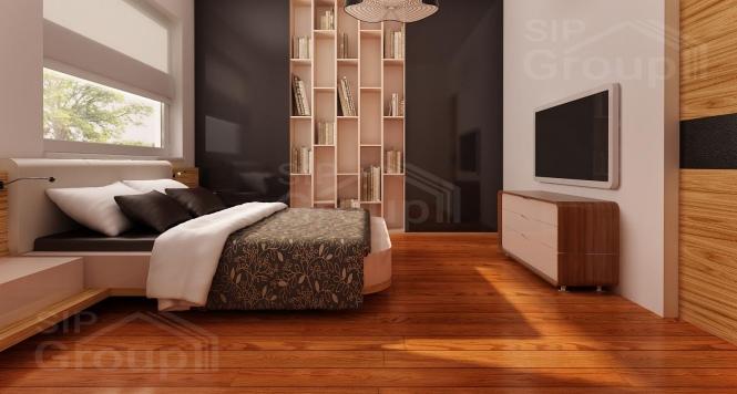 """Проект дома из СИП панелей """"Симпатичный"""" - фото интерьера"""