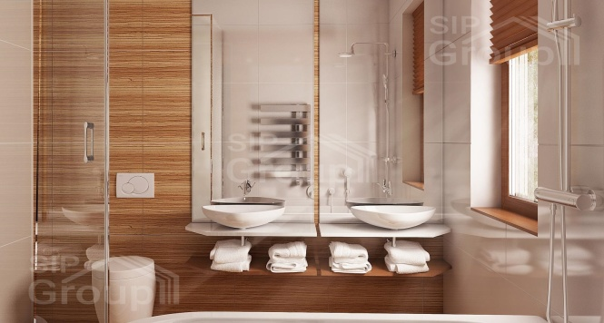 """Проект одноэтажного дома из СИП панелей """"Скандинавия"""" - фото интерьера"""