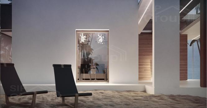 """Проект дома из СИП панелей в стиле хай-тек """"Майами"""""""