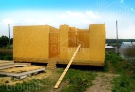 Отзыв о доме из СИП панелей в М.О. Чеховский район