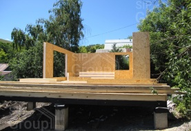 Отзыв о доме из СИП панелей в Саратове