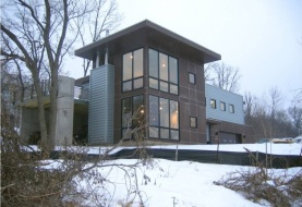 Дом из OSB-3 в США