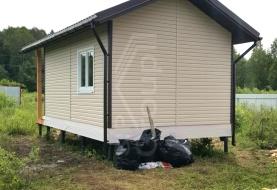 Отзыв о доме из СИП панелей в М.О. Талдомский район