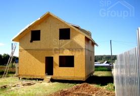 Построить дом из СИП панелей под ключ