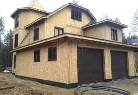 Построить дом недорого из СИП панелей