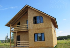 Построить дом из СИП панелей недорого