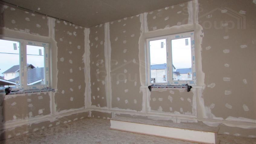Шумоизоляция дома из СИП панелей при помощи гипсокартона