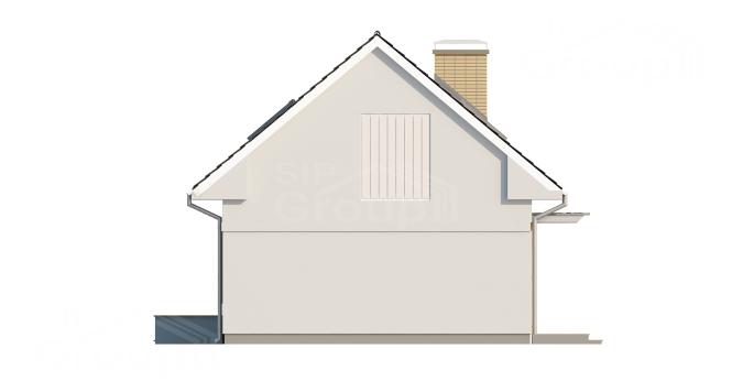 """Проект дома из СИП панелей """"Афродита"""" - фасад"""