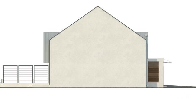 Дом на 2 семьи из СИП панелей - фасад