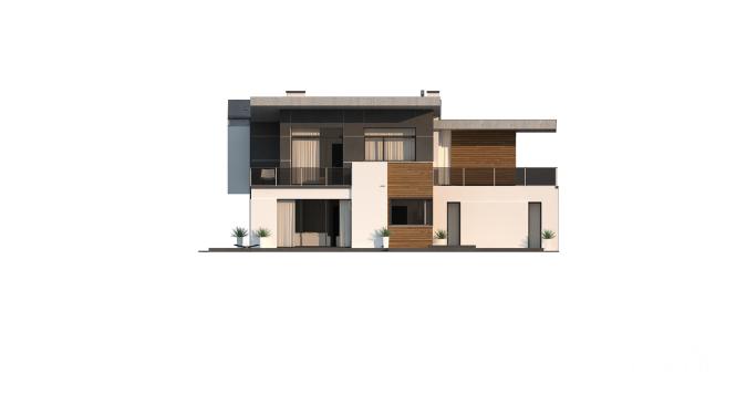 "Проект дома из СИП панелей ""Макси"" - фасад"