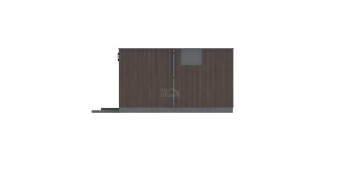 """Павильон из СИП панелей """"Микрус 2"""" - фасад"""