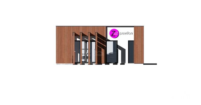 """Магазин из СИП панелей """"Торговус"""" - фасад"""