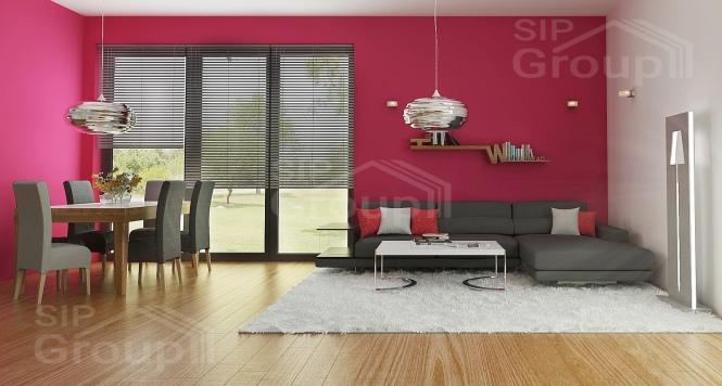 """Проект дома из СИП панелей """"Бриз"""" - фото интерьера"""