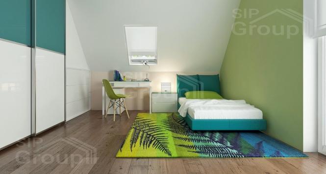 """Проект дома из СИП панелей """"Вертиго"""" - фото интерьера"""