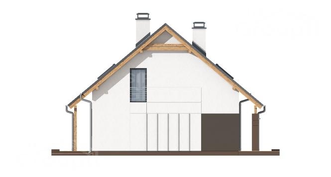"Проект дома из СИП панелей ""Вертиго"" - фасад"