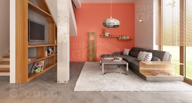"Проект дома из СИП панелей ""Квадро"" - фото интерьера"