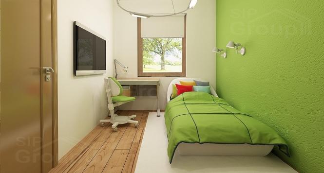 """Проект одноэтажного дома из СИП панелей """"Ласточка"""" - фото интерьера"""