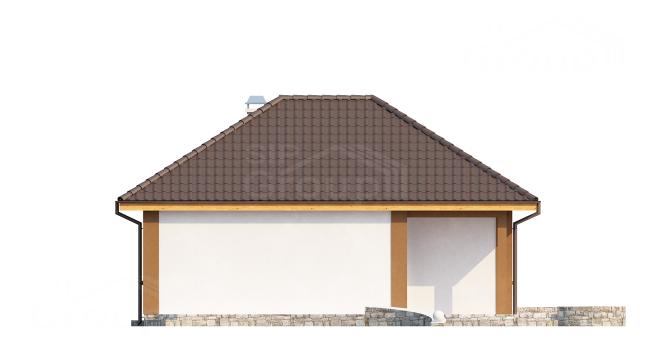 """Проект дома из СИП панелей """"Натали"""" - фасад"""