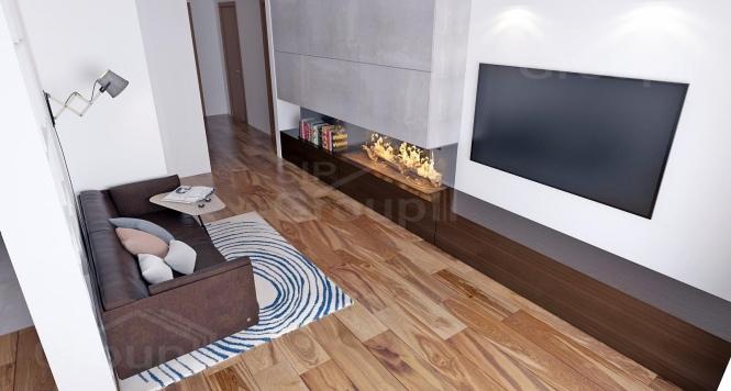 """Проект одноэтажного дома из СИП панелей """"Ранчо"""" - фото интерьера"""