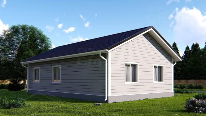 Недорогой дом из СИП панелей