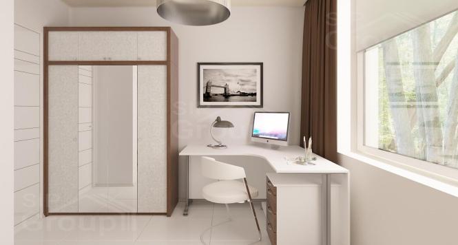 """Проект одноэтажного дома из СИП панелей """"Южный"""" - минимальный размер участка - фото интерьера"""
