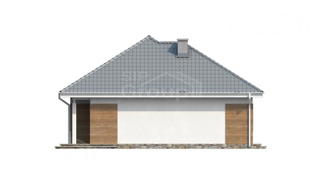 """Проект дома из СИП панелей """"Вилла"""" - фасад"""