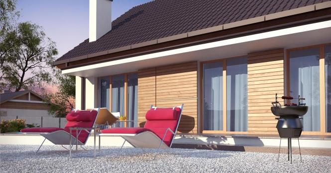"""Проект одноэтажного дома из СИП панелей """"Мечта"""""""