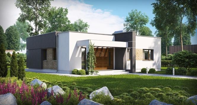 """Проект дома из СИП панелей в стиле хай-тек """"Модерн"""""""