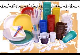 Одноразовая посуда из полистирола