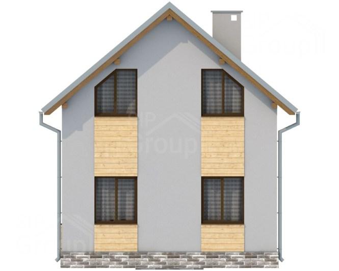 Дом за миллион рублей под ключ - фасад