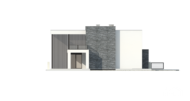 Дуплекс из СИП панелей - фасад