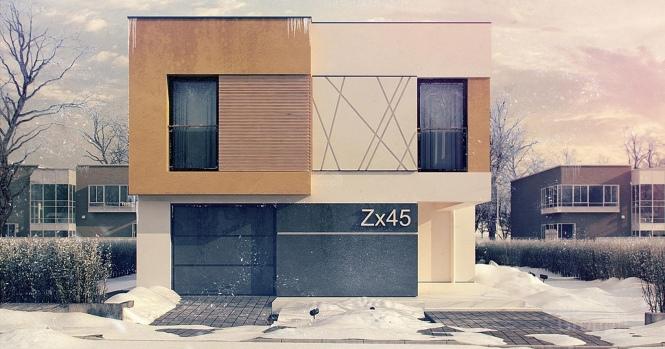 """Проект дома из СИП панелей """"Солидный"""""""