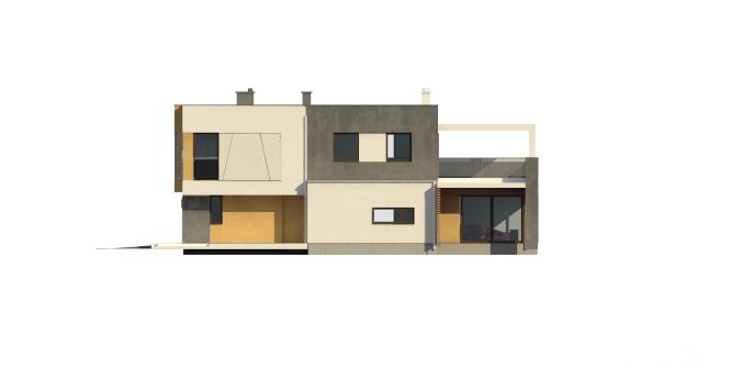 """Проект дома из СИП панелей """"Солидный"""" - фасад"""
